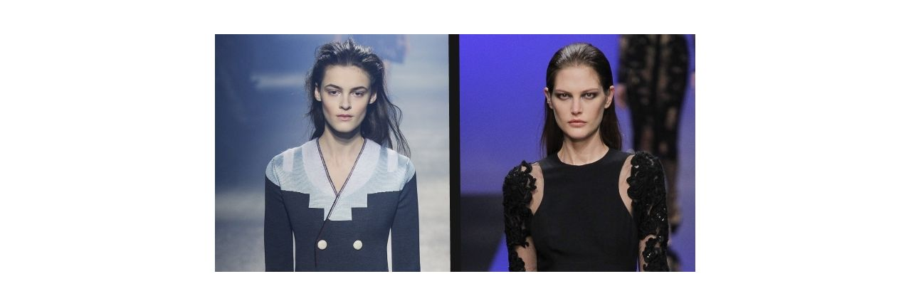 Gara di acconciature: wet look grunge VS wet look chic