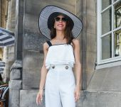 Streetstyle: l'accessorio giusto per un white total look