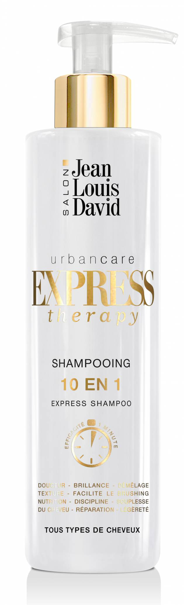 Focus sullo shampoo Express Therapy